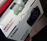 Canon EOS 80D DSLR with Canon 18-55mm Zoom Lens