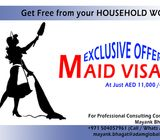 Maid Visa in UAE in AED 13,000