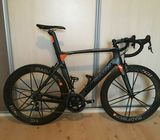 Colnago Concept, size 56S (toptube 580 mm), Sram Force 2 x 11 speed, ZIPP bars