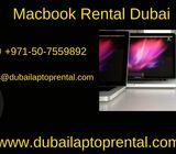 Macbook rental in Dubai
