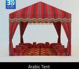 Arabic Majlis Rental full Ramadan Month 5000 Dh