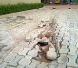 Masonry work, Tiles Work, Interlock Work, Marble Fixing, Swimming Pool Tiles, Call On 050 2097517