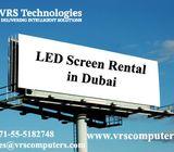Indoor LED Display Screen Hire Services in Dubai UAE
