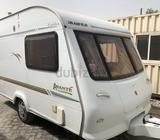 CAMPING CARAVAN, ELDIS AVANTE, 2001 UKEXCELENT CONDITION INSIDE AND OUT,SLEEPS 2 SIDE TENT/AWNINGGAS