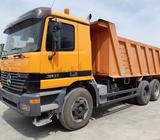 Mercede-Benz 6x4 tipper truck 3831 model 2001 very clean truck