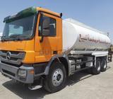 Mercedes-Benz Water tanker Truck 5000 Gallons model 2009 excellent conditions