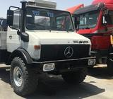 Mercedes Unimog 1550L 4x4 model 1999 manual gear very good and clean condition imported from Germany