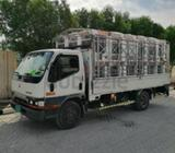 I have 3ton,7ton and 10ton pickup for rents with driver monthly and daily basis Dubai and All UAEWar