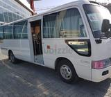 We are providing buses for rent with drivers monthly and daily