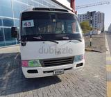 We are providing buses for rent with drivers school staff and Labar