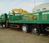 Mitsubishi crane truck Lifting capacity 6 tonsLoading capacity 20 tonsPerfect condition