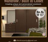 Built in Closet Dubai   Wooden Wardrobes   Wardrobes Suppliers Dubai