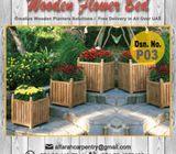 Wooden Planters Dubai | Garden planters Dubai | Outdoor Planters UAE