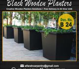Wooden Planters Abu Dhabi | Garden Planters | Outdoor Planters Dubai