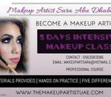 Intensive makeup class