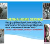 HOME SERVICE HENNA FOR EID