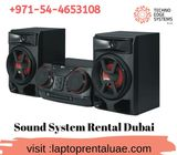 Sound System Rental Dubai - Techno Edge