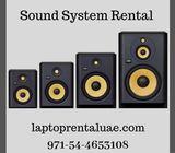 Sound system rental for  DJ , Musical Nights