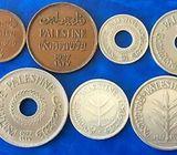 OLD COINS, PALESTINE