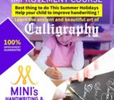 IMPROVE YOUR CHILDS HANDWRITING & LEARN BEAUTIFUL  CALLIGRAPHY