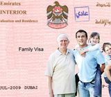 Family Residence Visa for low income – Call #971544472137