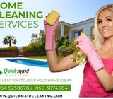Affordable Cleaning and maid service in Abu Dhabi AED 30/hr only