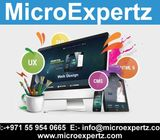 web design agency Start From AED 499 - MicroExpertzInternational City