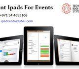 Rent a iPad - Hire iPad Pro Dubai - Rent iPads for Meetings in Dubai