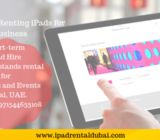 iPad Hire |Renting iPads for Business and Events Dubai | iPad Rent Dubai