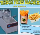 FRENCH FRIES FOR RENTAL AND SERVICES