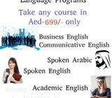 Huge offer in Language programs