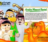 ARABIC MASCOT - Extreme Excite Event Management
