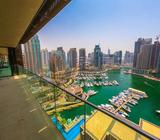 Fantastic Marina View - Two Bedroom for rent in Marina Gate 1 / Fully Furnished