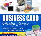 Executive Business Cards Printing in Sharjah, 1 Hour Service