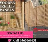Wooden Trellis Panels Dubai | Supply & Installing Trellis Panels