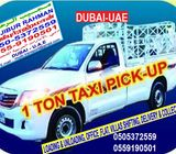 HIRE SHIFTING SMALL TRUCK PICKUP DELIVERY COLLECTION ANY SMALL WORKS... TRANSPORT SERVICE DUBAI-UAE