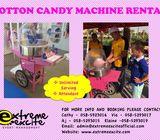 COTTON CANDY MACHINE RENTAL   FUN FOOD MACHINE RENTAL
