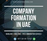 UAE Company Formation in Mainland & Free zone - #0544472157