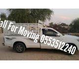 1 Ton Pickup Moving Service Dubai|0553512240