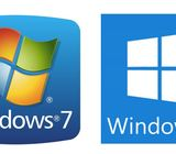 Windows 7 and Windows 10 pro activated installation