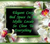 Elegant Cozy Bed Space In An Idyllic Locale So Close To Everything