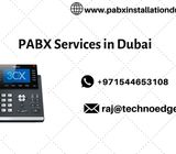 Get PABX Installation in Dubai From Techno Edge Systems LLC