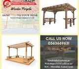 Wooden Pergola Designs With Beautiful Pergola Ideas in Dubai