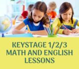 Female math English tutors grade 1 / 2 in Dubai