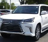 Used 2017 Lexus LX 570 White