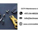 CCTV maintenance in Dubai