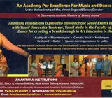 Indian Classical Music & Dance - Anantara Music & Dance Training Centre