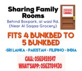 Sharing Family Rooms-Kabayan