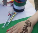 henna artist for National day 0554760668