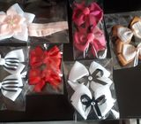 Collections of hair bows